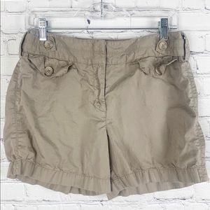 Loft Utility High Rise Shorts size 6